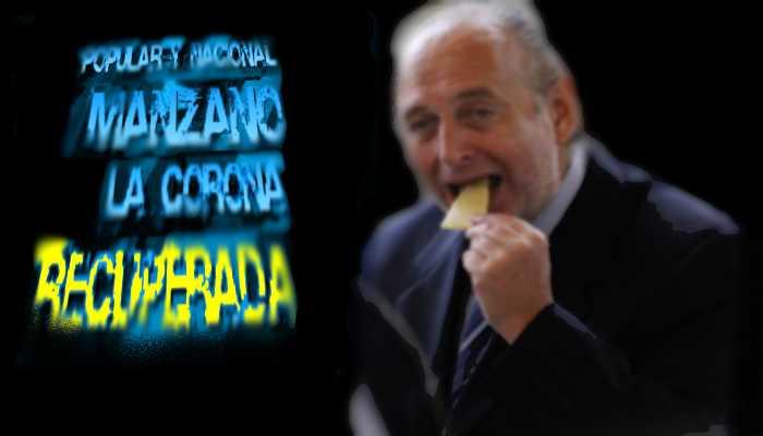 MANZANO ROBANDO PARA LA OTRA CORONA
