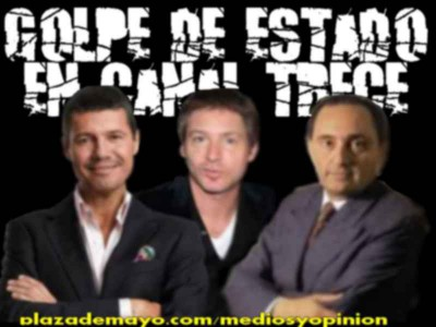 TINELLI A CANAL 13