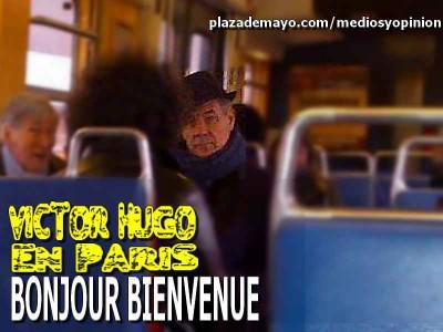 VICTOR HUGO MORALES EN PARIS