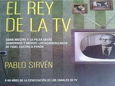 """EL AUTOR DE """"EL REY DE LA TV"""" CON MARIANO GRONDONA"""