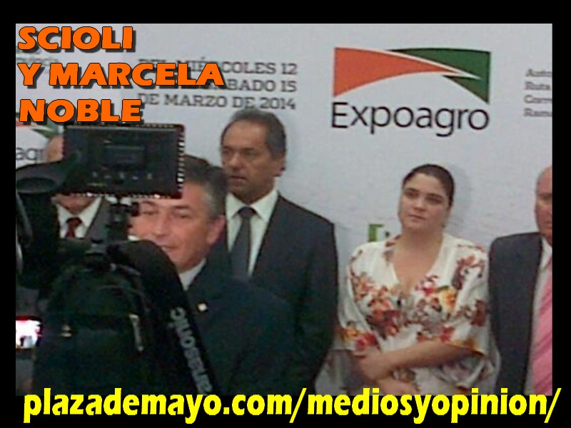 scioli marcela noble