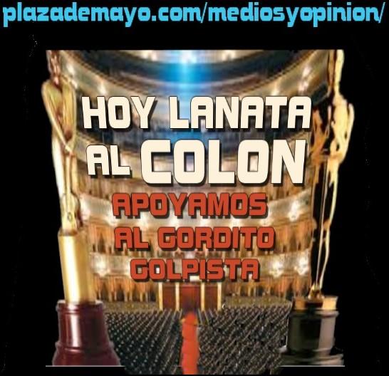 LANATA DESDE EL COLON