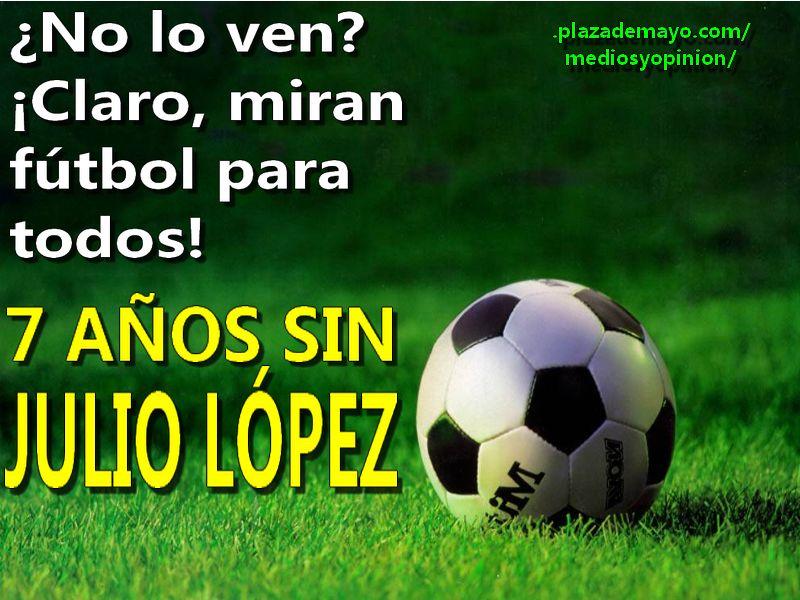 JULIO LOPEZ FUTBOL