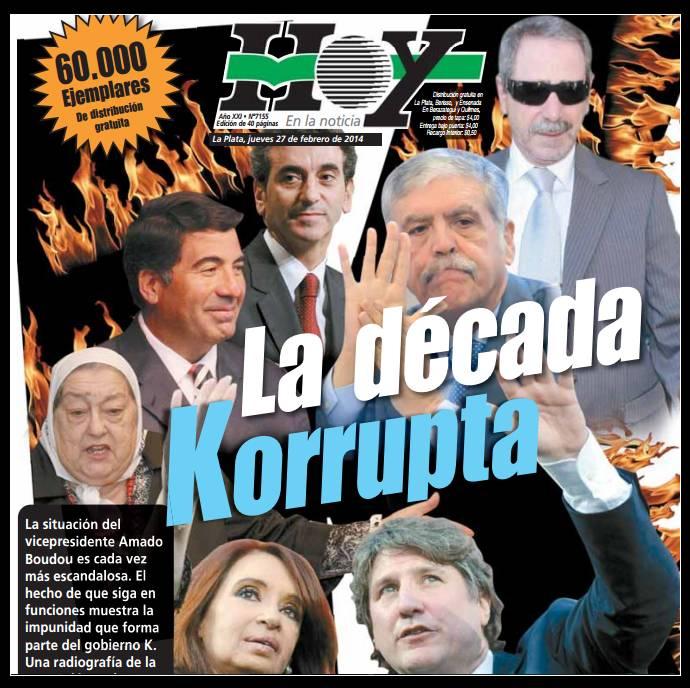 diario hoy dekada korrupta