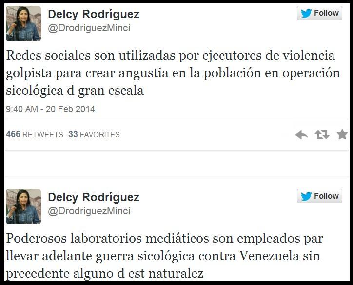 venezuela ministra