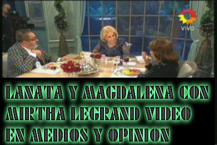 LANATA MAGDALENA Y MIRTHA