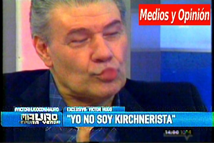 victor hugo morales YO NO SOY K