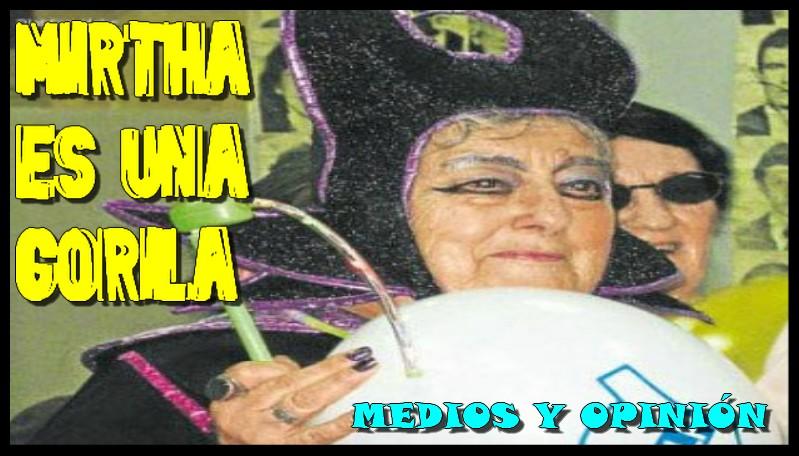 MIRTHA ES UNA GORILA