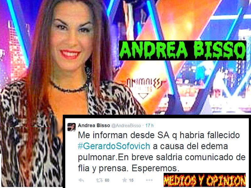 MURIO SOFOVICH ANDREA BISSO