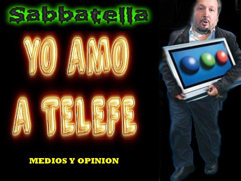 SABBATELLA AMA A TELEFE