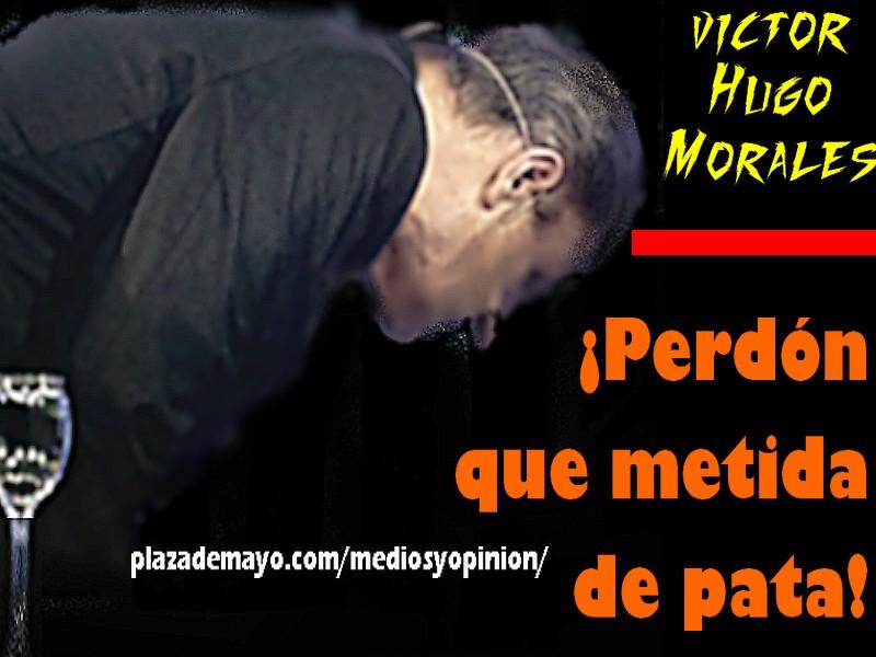 VICTOR HUGO METIDA DE PATA