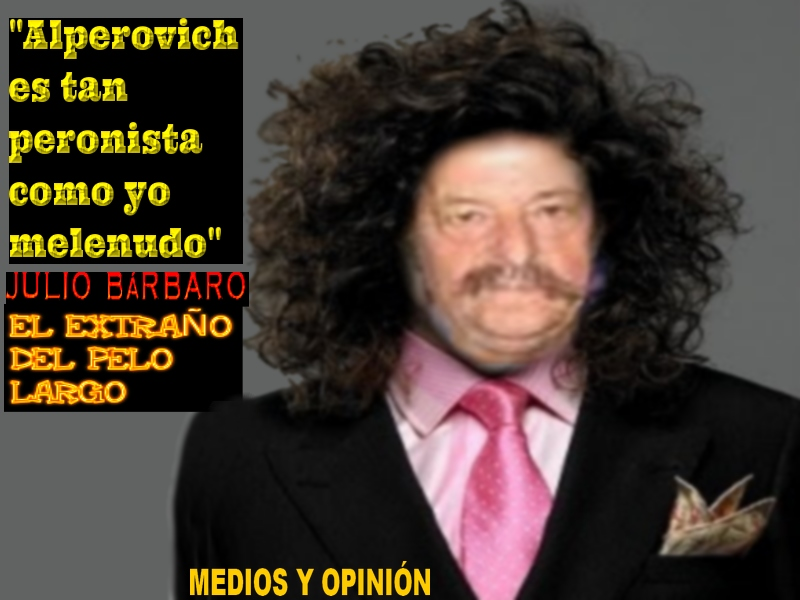 BARBARO MELENUDO