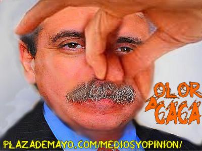 ANIBAL FERNANDEZ OLOR A CACA