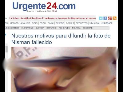 urgente 24 nisman