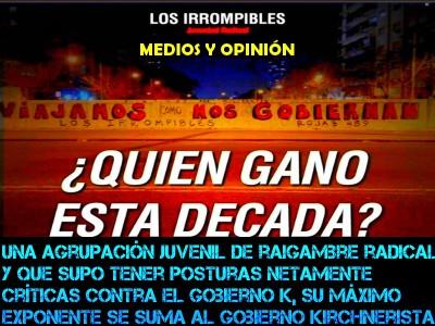 LOS IIOMPIBLES