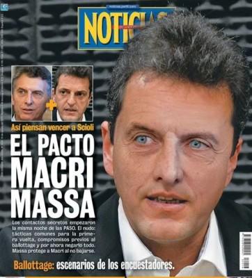 PACTO MASSA MACRI SEGUN NOTICIAS