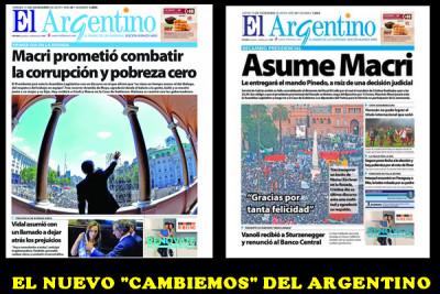 EL ARGENTINO CAMBIEMOS