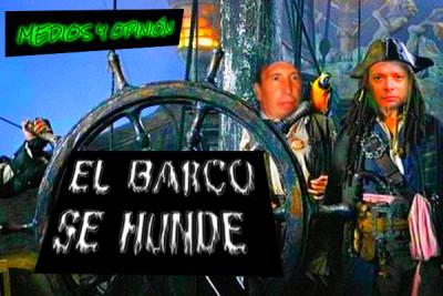 EL BARCO SE HUNDE