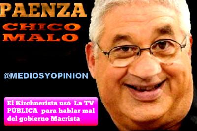 PAENZA CHICO MALO