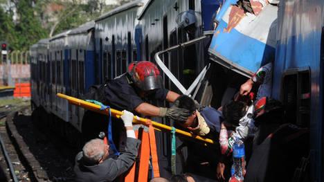 El Chapa 16, tren descarrilado que provocó 51 muertes.