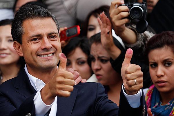 Enrique Peña Nieto, el nuevo presidente de México
