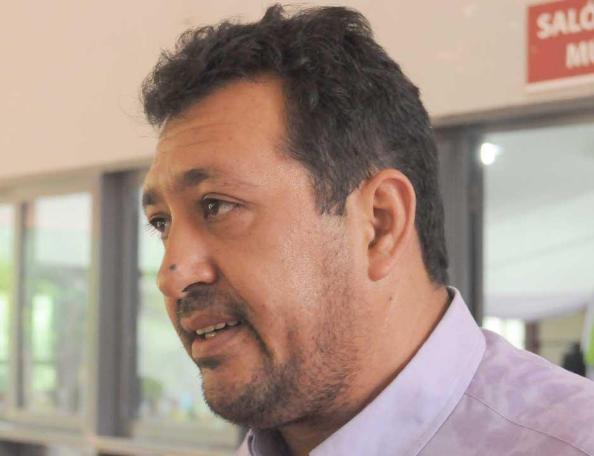 Carlos Flores, intendente de Candelaria