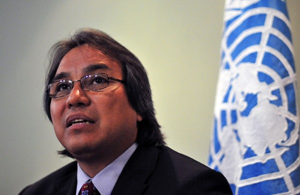 James Anaya, Relator Especial de la ONU