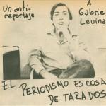 Reportaje a Gabriel Levinas