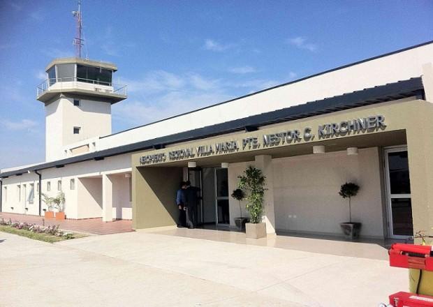 Aeropuerto de Villa María, Córdoba