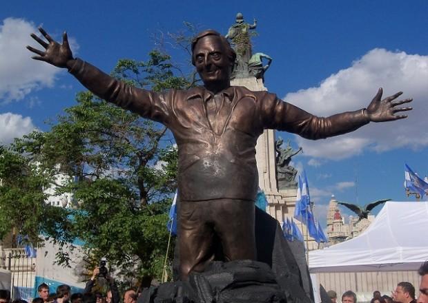 Estatua de Néstor Kirchner en Río Turbio, Santa Cruz