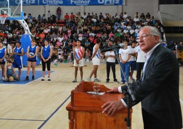 Fellner inaugura Estadio olimpico Kirchner