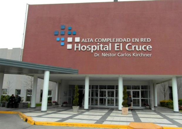 Hopital El Cruce Florencio Varela bautizado Kircher