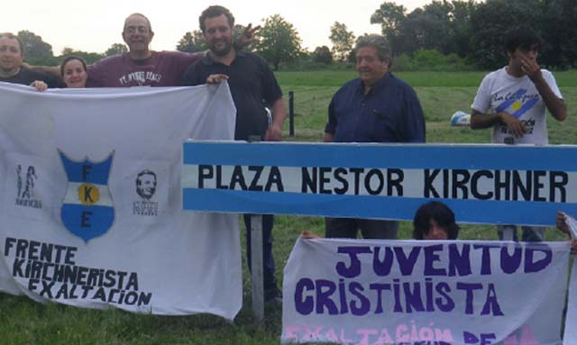 Plaza Néstor Kirchner,  Exaltación de la Cruz,  Provincia de Buenos Aires