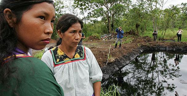 Los daños ambientales en la Amazonía de Ecuador son irreparables