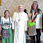 Félix Díaz habló luego de su visita al Vaticano