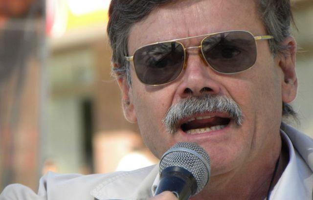 """El """"comunista"""" que vota a Beder Herrera."""