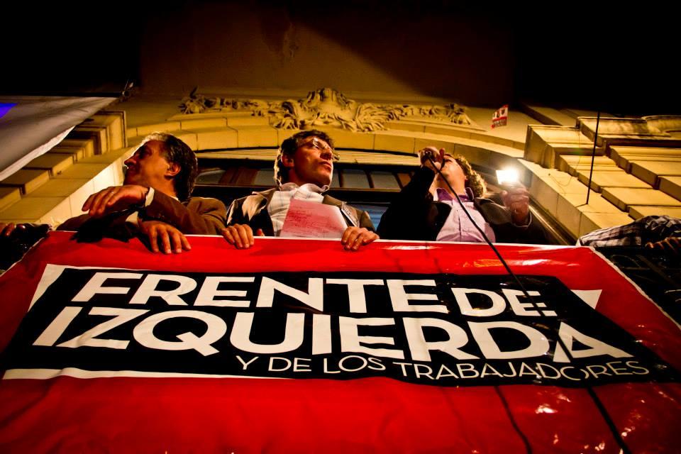 Pitrola (PO), Giordano (IS) y Castillo (PTS), diputados electos por Buenos Aires.