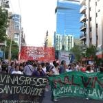 """""""No queremos un Mariano Ferreyra en Malvinas Argentinas"""""""