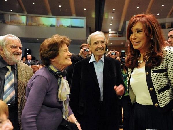 Inauguración de la Feria del libro del libro de Frankfurt con CFK