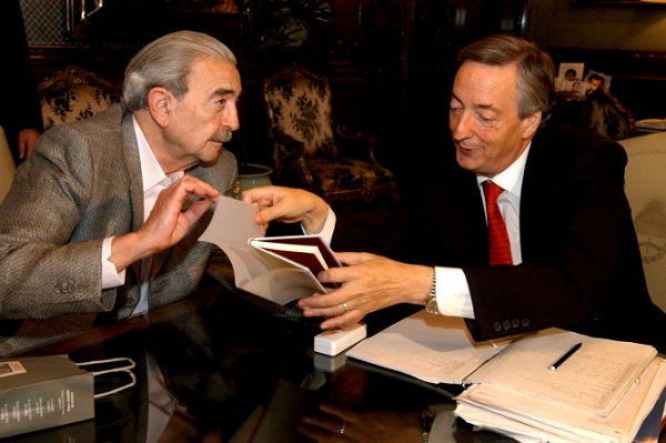 Junto a Néstor Kirchner