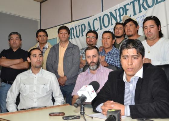 """Claudio Vidal, del sindicato petrolero, acusa a los trabajadores presos de """"infiltrados""""."""