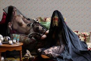Fotografía de la artista marroquí Majida Khattari