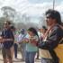 Aborígenes y estudiantes se habían movilizado en reclamo de derechos.