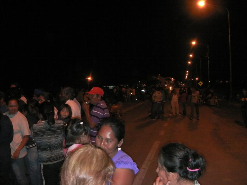 La comunidad qom de la capital formoseña corta la ruta