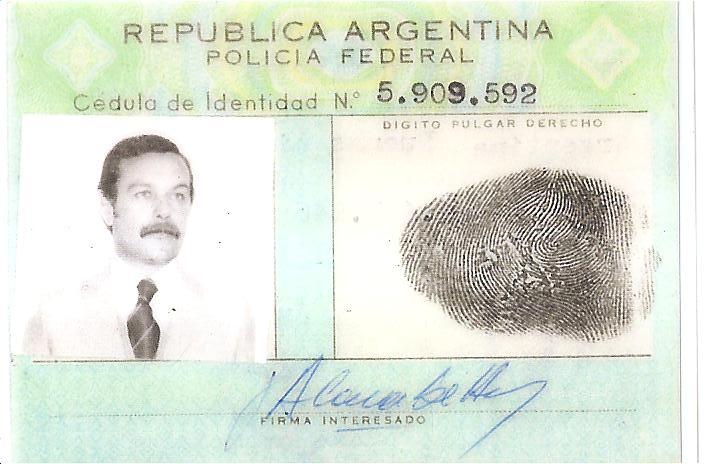 Roberto Gordillo, acusado por crímenes de lesa humanidad.