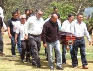 Los restos de la docente fueron enterrados en Salta.