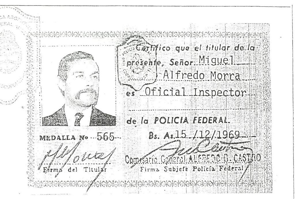 El reclutador de Gerardo Martínez, con identidad falsa.