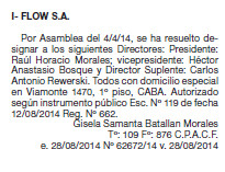 I-Flow, la empresa tercerizada por el Correo