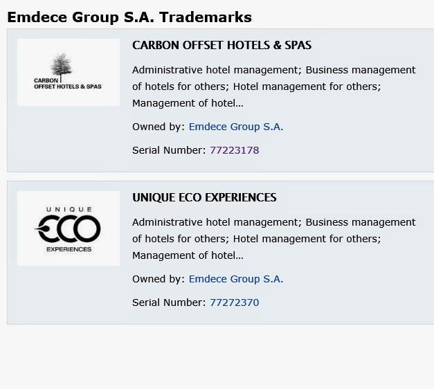 Marcas registradas por Emdece Group SA en Delaware.